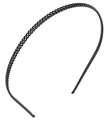 Buy Anokhi Ada Chain Black Metal Hair Band for Men and Women (HAB-1004)  Online at Low Prices in India  64f3b5b117d