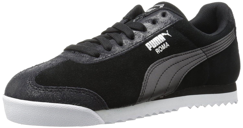PUMA Women's Roma Classic Met Safari Wn Sneaker B06XWK7T85 8.5 M US Puma Black-puma Black