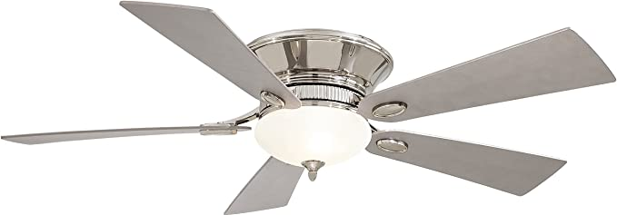 Amazon.com: minka-aire f711-pw, Delano II Estaño Flush Mount ...
