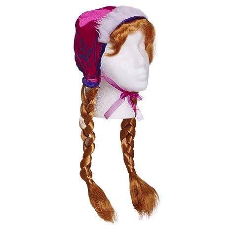 bbe0f3e0 Frozen Disney Anna's Snow Cap and Braids