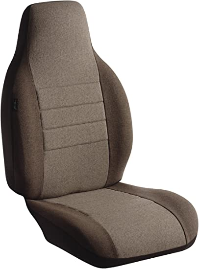 Tweed, Taupe Fia OE32-34 TAUPE Custom Fit Rear Seat Cover Split Cushion 40//60