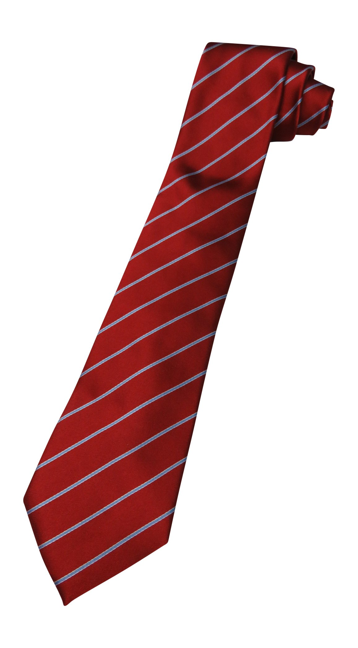 Donald Trump Neck Tie Red, Blue and Silver Striped