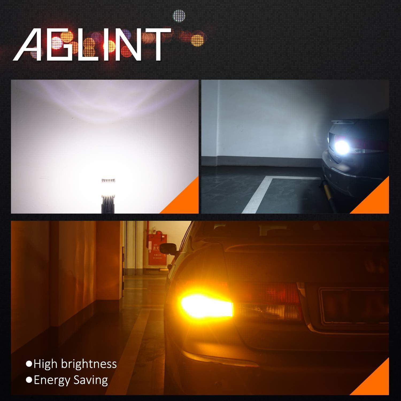 AGLINT 1156 P21W LED Lampadina 4014 66SMD 1141 1003 1073 BA15S Auto Lampadina Luci Posteriori Turn Segnali Parcheggio Luce di Retromarcia Fanale Posteriore Bianca 6000K