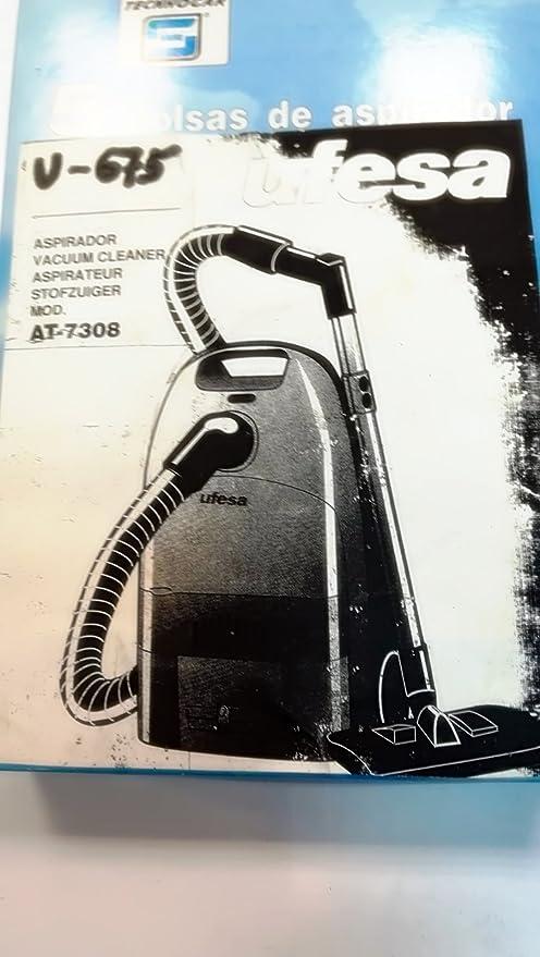 Taurus Bolsas Aspirador COMPATIBLES UFESA V675: Amazon.es: Hogar
