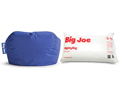 Outstanding Amazon Com Big Joe 98 Round Bean Bag Chair In Sapphire Onthecornerstone Fun Painted Chair Ideas Images Onthecornerstoneorg