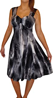 product image for Funfash Plus Size Women Empire Waist A Line Black Cocktail Dress New Made in USA