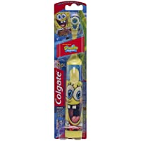 Colgate Battery Powered Kids Toothbrush, SpongeBob (Colors Vary)