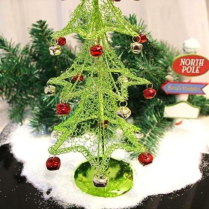 Amazon Com Christmas Tree Desktop Decoration Mini Desk Christmas
