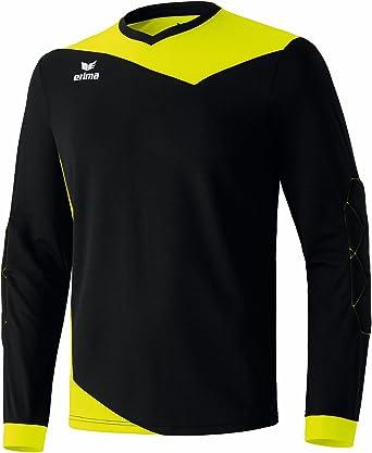 erima Torhüter Glasgow Torwarttrikot - Camiseta de Portero de fútbol para Hombre, Color Negro/Amarillo neón, Talla 15 años (164 cm): Amazon.es: Ropa y accesorios