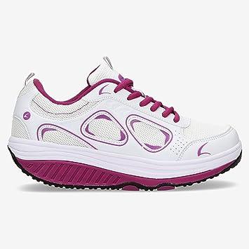 Zapatillas Fitness Blancas Balancín Ilico (Talla: 40): Amazon.es: Deportes y aire libre
