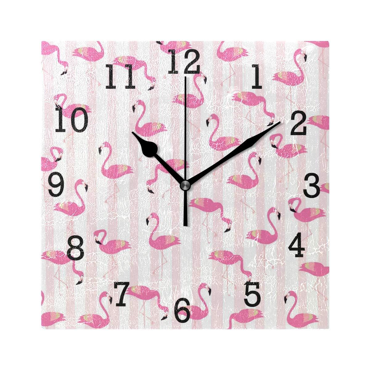 Non tic-tac Digital Silencieux Balayage décoratifs horloges ...