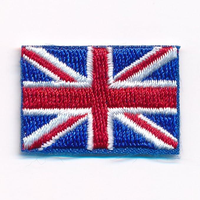 30 X 20 Mm Königreich Großbritannien London Flag Aufnäher Aufbügler 0635 Mini Auto