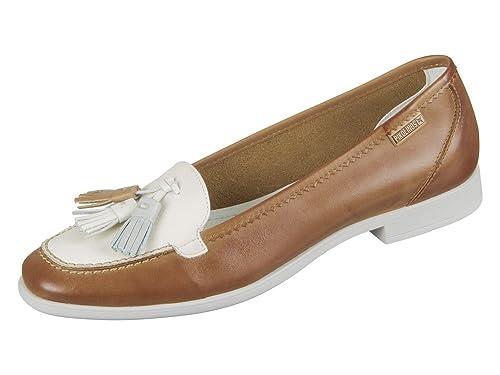 Pikolinos W4Q-3678 - Mocasines de Piel Lisa Para Mujer: Amazon.es: Zapatos y complementos
