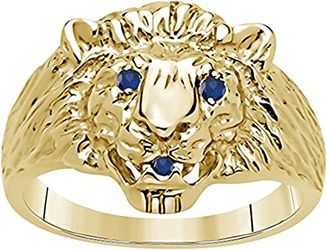 Silverraj Jewels Womens Fashion Jewellery 14K Gold Plated Simulated Diamond Studded Alloy Ring