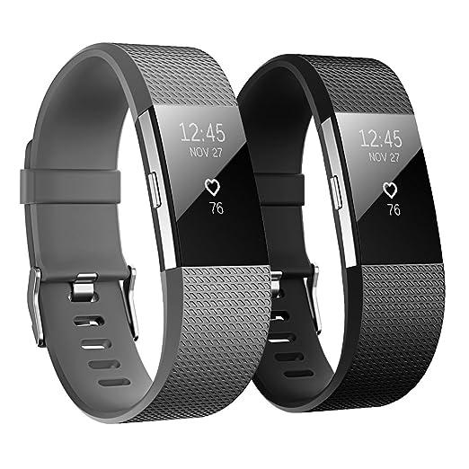 133 opinioni per Hanlesi Fitbit charge 2 Cinturino Morbido Sportivo di Ricambio in TPE, Accessori