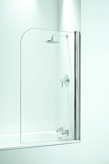 Coram Showers SFR80CUC-, 1400 x 800 mm, per vasca da bagno, con 5 mm ...