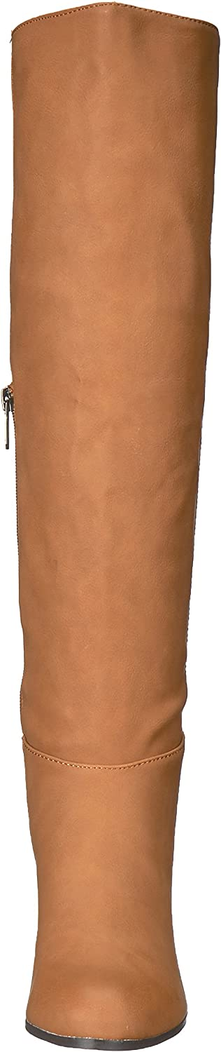 Circus by Sam Edelman Womens Sibley Padded Insole Block Heel Knee-High Boots