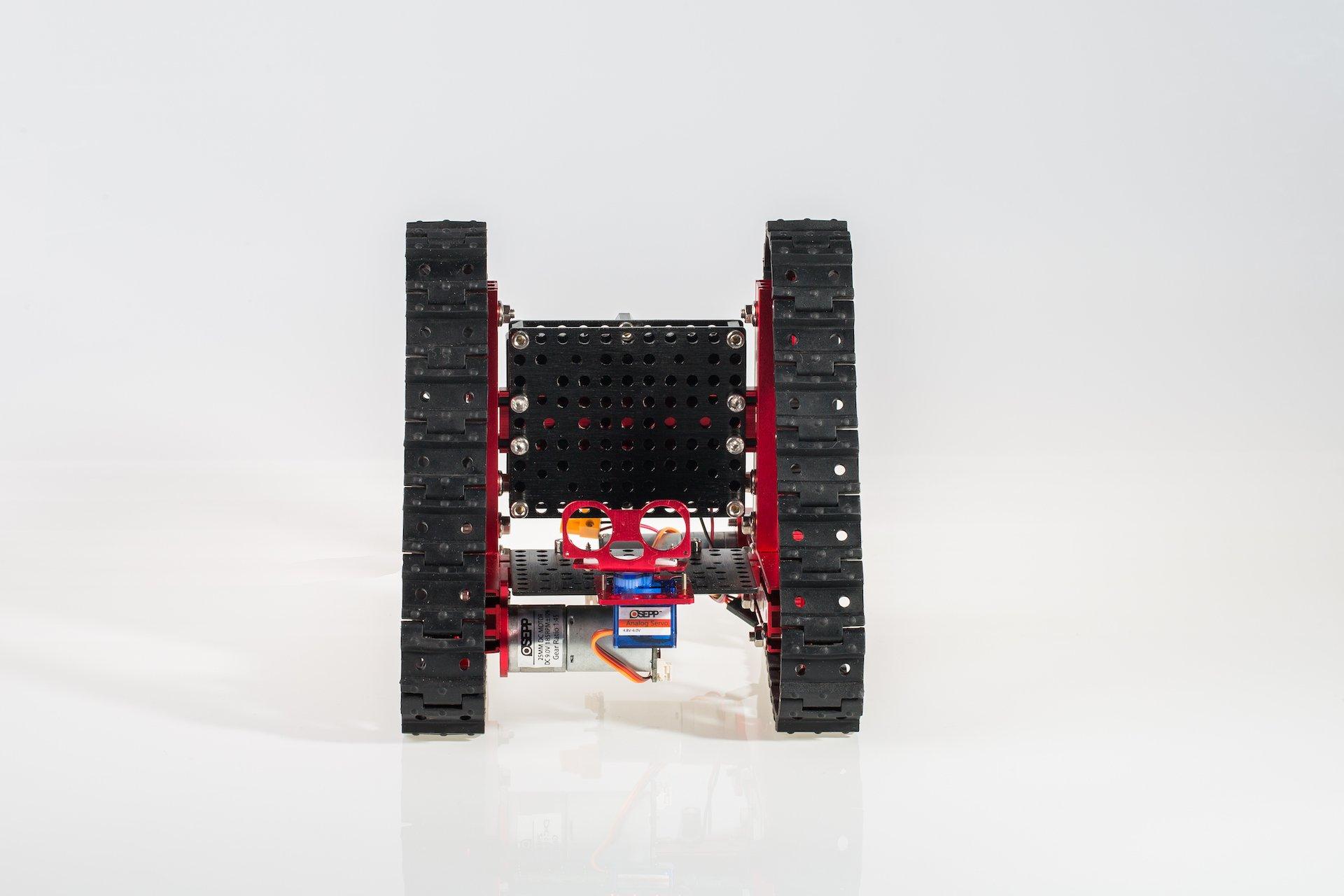 OSEPP Triangular Tank Robotic Mechanical Kit by OSEPP (Image #6)