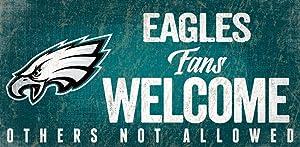 Fan Creations Philadelphia Eagles Fans Welcome Sign, Multi