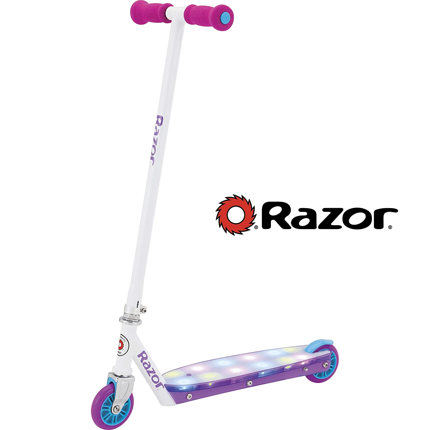 Amazon.com : Razor Party Pop Kick Scooter : Sports & Outdoors