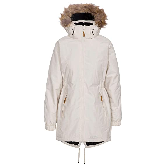 73ea6fe69 Trespass Women's Celebrity Warm Waterproof Jacket with Removable Hood
