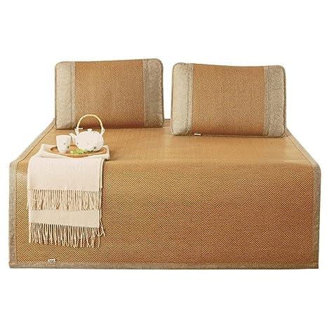 Sábanas de cama de 1,8 m. Dormitorio para estudiantes Sábanas de paja de verano Tres ...