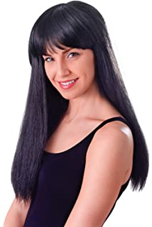 """Cher 23/"""" Red Fancy Dress 23/"""" Cher Wigs for Costumes /& Outfits Accessory"""