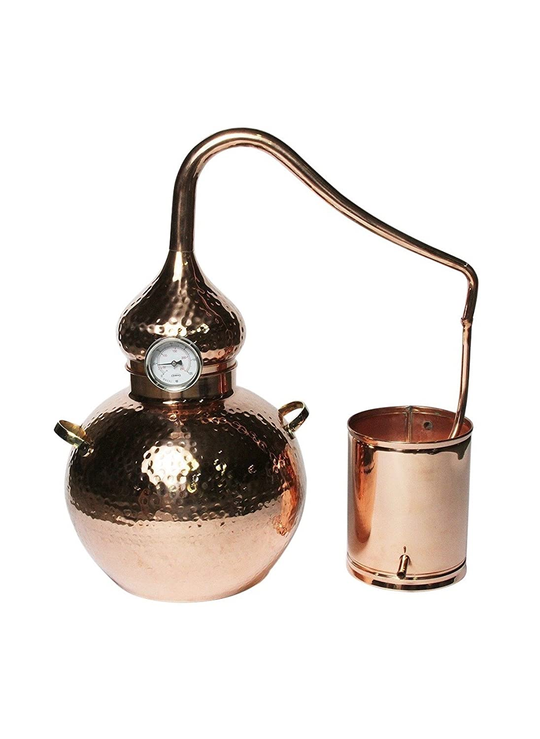 Copper Alembic Still For Whiskey Essential Oils Water Moonshine Diagram Images Pictures Becuo Etc 25 Gallon Kitchen Dining
