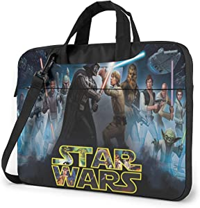 Laptop Carrying Handbag, Shoulder Messenger Case Bag, Computer Briefcase with Strap fits for 14 Inch Sleeve Laptop and Tablet, Anti-Shock,Waterproof Wars Design,Business Casual or School