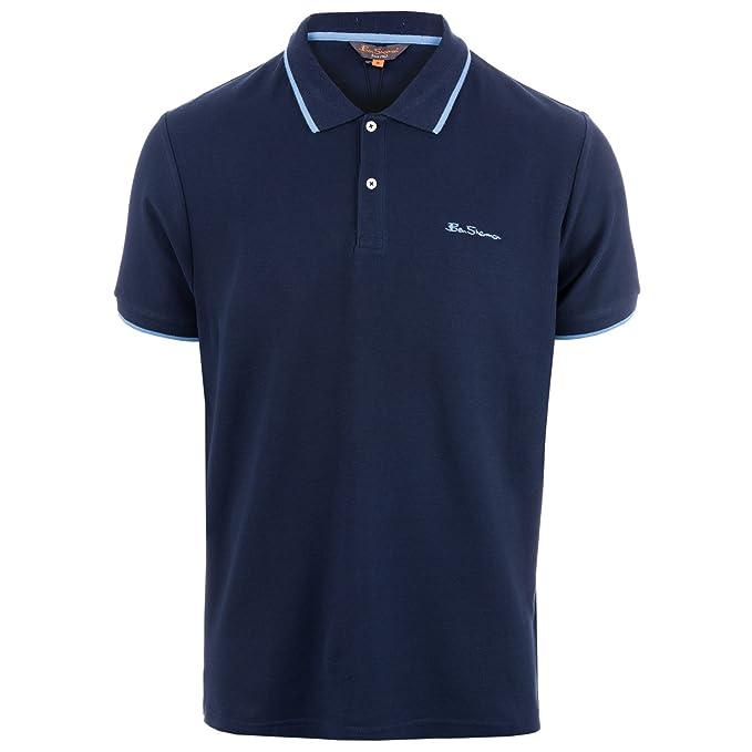 Ben Sherman - Polo - para Hombre Azul Azul Small: Amazon.es: Ropa ...