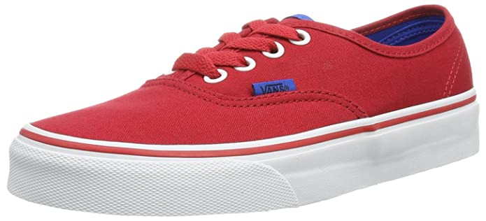 Vans Authentic Sneaker Unisex Erwachsene Rot ((Pop) Chinese R)