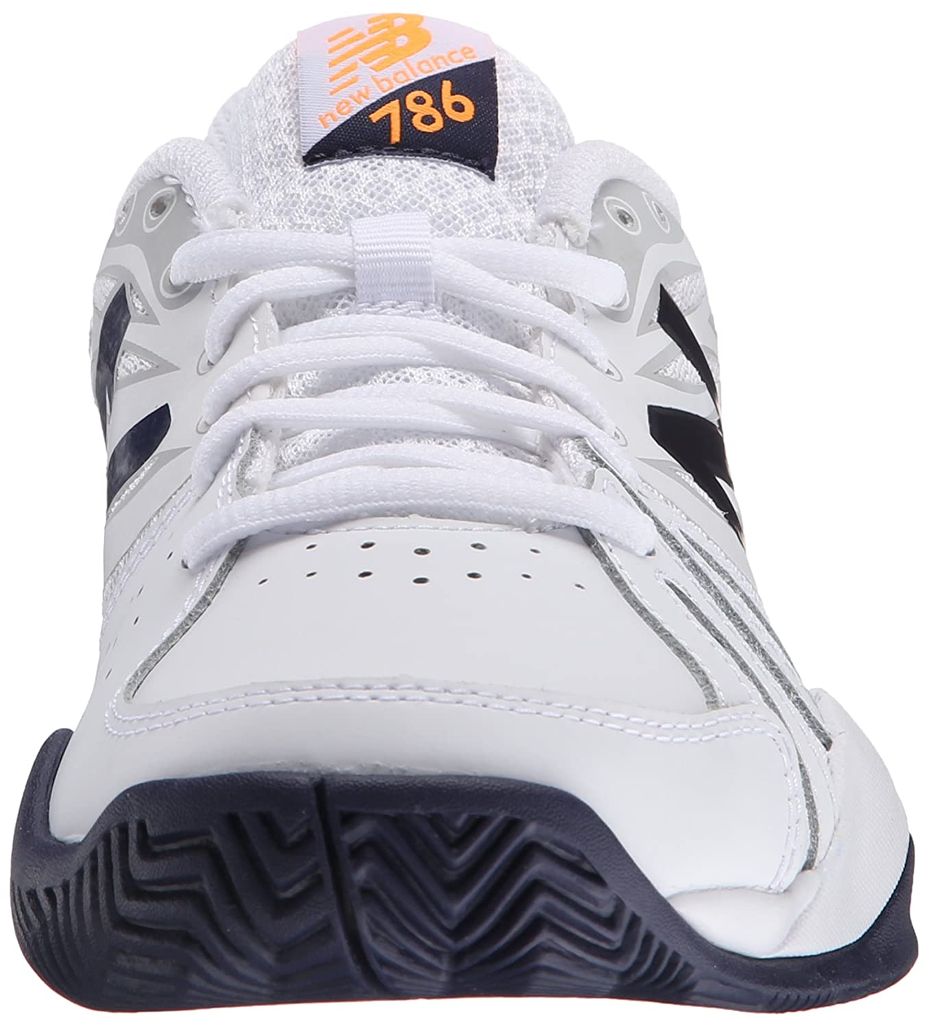 New Balance Women's 786v2 Cushioning Tennis Shoe B00Z7KHTFC 9.5 2A US|White/Blue