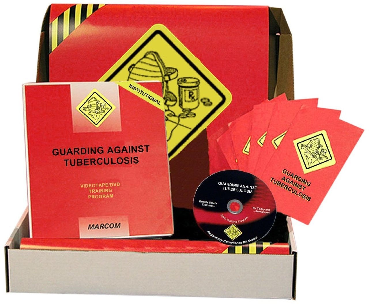 MARCOM Guarding Against Tuberculosis in Institutional Environments DVD Training Kit