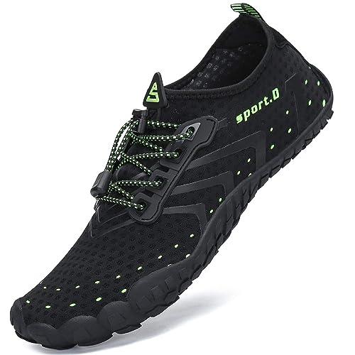 SAGUARO Hombre Mujer Zapatos de Agua Escarpines Secado Rápido Transpirable Zapatillas de Natación: Amazon.es: Zapatos y complementos