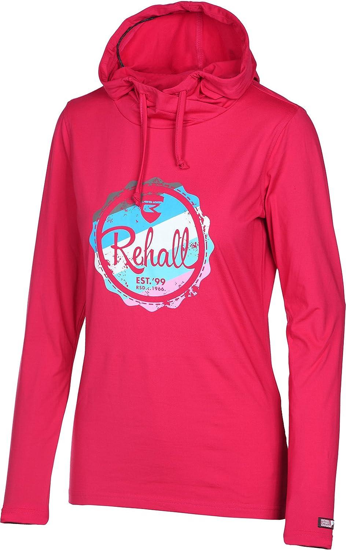 Rehall Sudadera Esquí/Snowboard Mujer Silvy de R con capucha, pink (315): Amazon.es: Deportes y aire libre