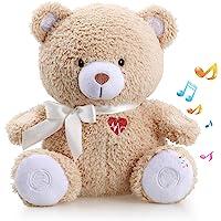 BEREST Baby Cry Sensor Honey Bear Sleep Soother Sleeping Aid White Noise Machine Infant Slumber Buddies Bear Toy…