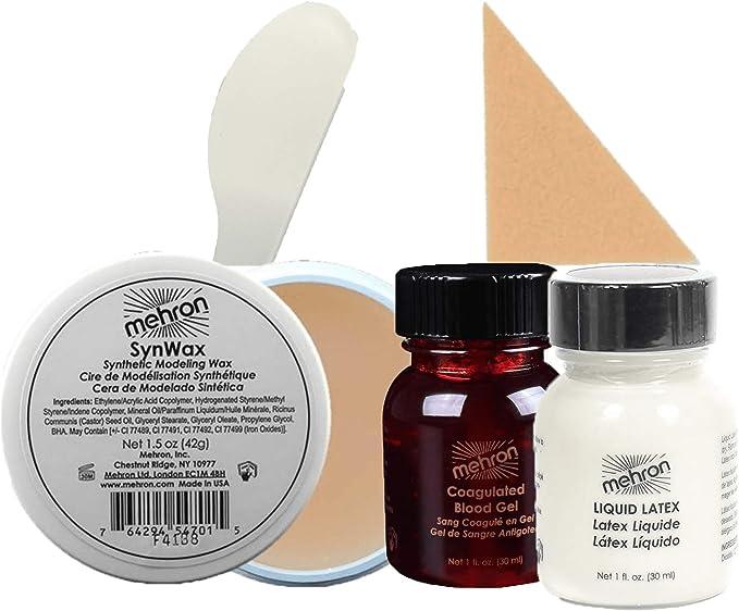 Mehron Wax FX Kit (5 piezas): Amazon.es: Belleza