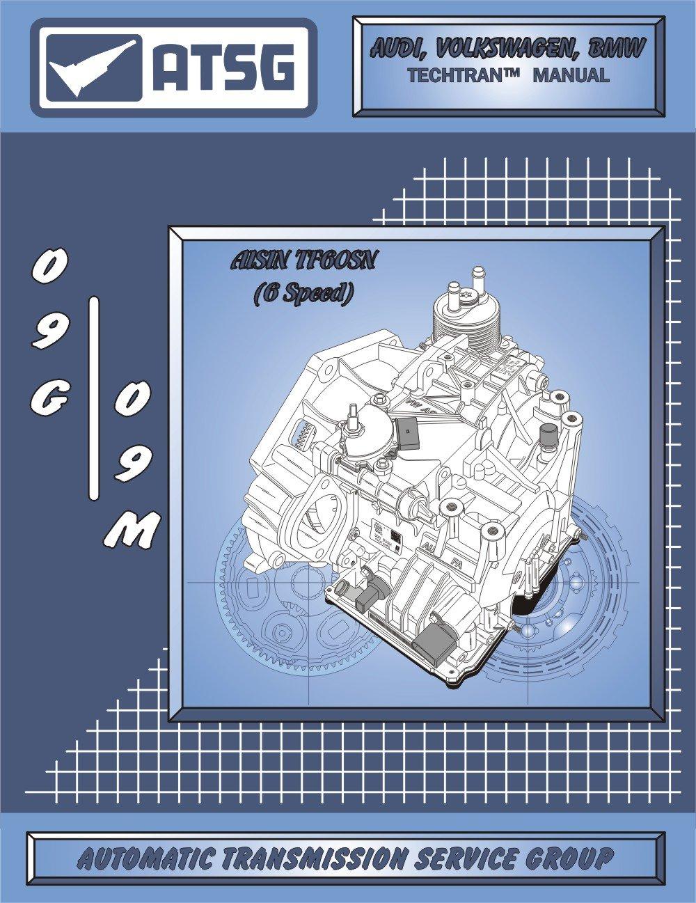 atsg vw 09g 09m techtran transmission rebuild manual audi rh amazon com ATSG Automatic Transmission Repair Manual ATSG Automatic Transmission Repair Manual