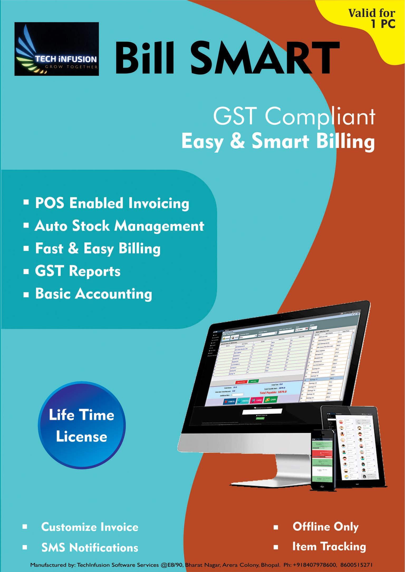 BILL SMART – GST Compliant, Billing, Invoicing, Software