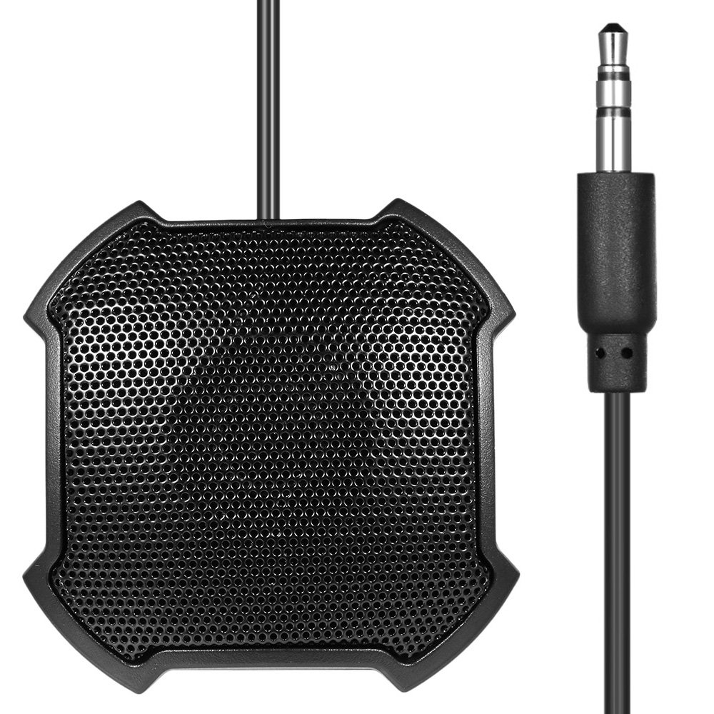 Walmeck Conference Microphone Omnidirectional Condenser Microphone Mic USB Connector for Business Conference Desktop Computer