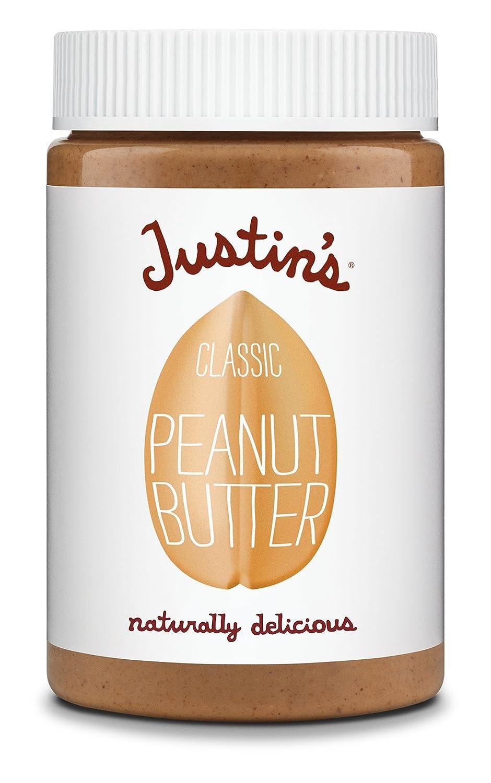 Justins Nut Butter - Clásico de mantequilla de maní - 16 oz.: Amazon.es: Salud y cuidado personal
