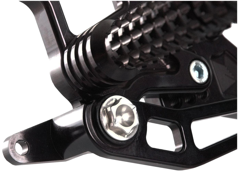 Vortex RS411K Black Rear Set