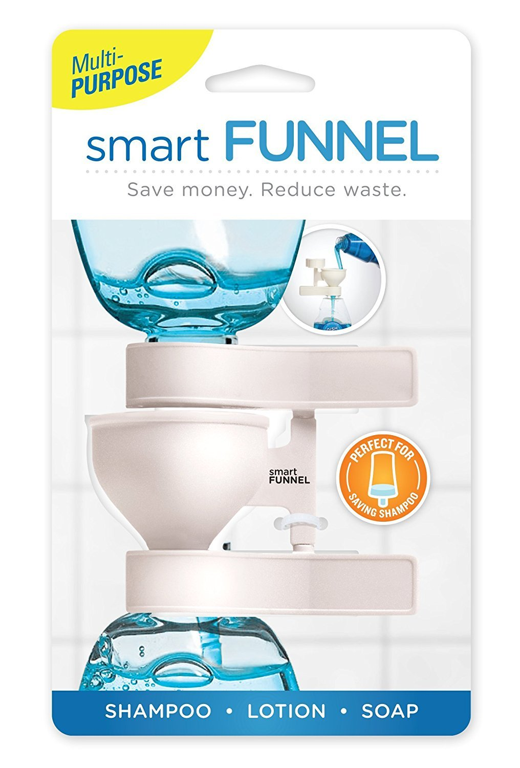 Dripit No Waste Funnel Drip-It Funnel CUMBERLAND CONCEPT INC 201