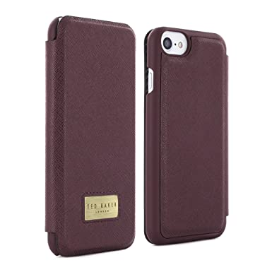 6368c7592 Official TED BAKER® AW16 Credit Card Slot Folio Case for Apple iPhone 7  Crafted in