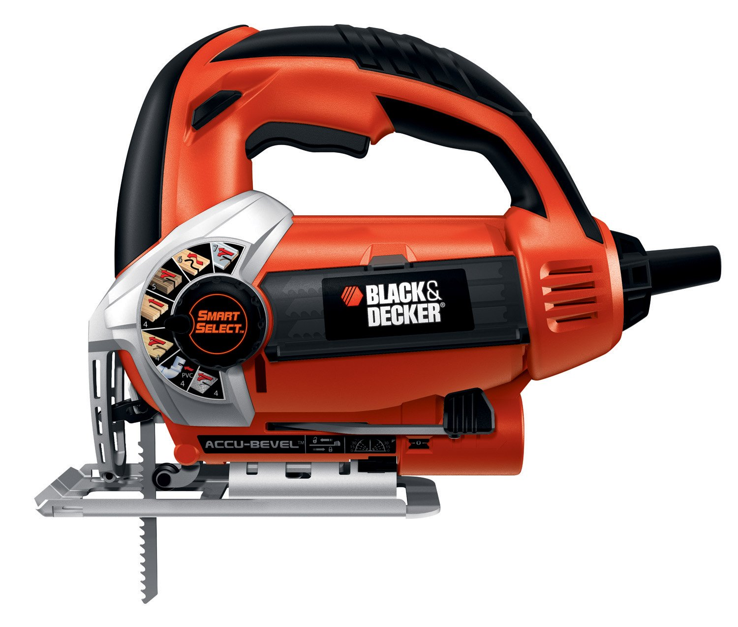 Black Decker Smart Select 5.0A Orbital Jigsaw