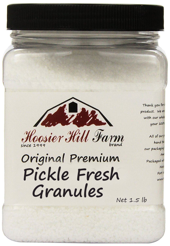 Hoosier Hill Farm Pickle Fresh granules, 1.5 lb Jar