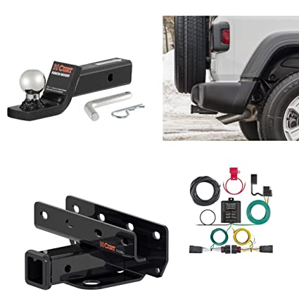 CME USA Class 3 Tow Hitch Receiver Package 2018 2019 Jeep Wrangler JL