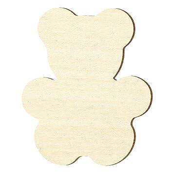 Sperrholz Zuschnitte Gr/ö/ßenauswahl Pappel 3mm Teddy Gr/ö/ße:H/öhe 20cm Teddyb/är