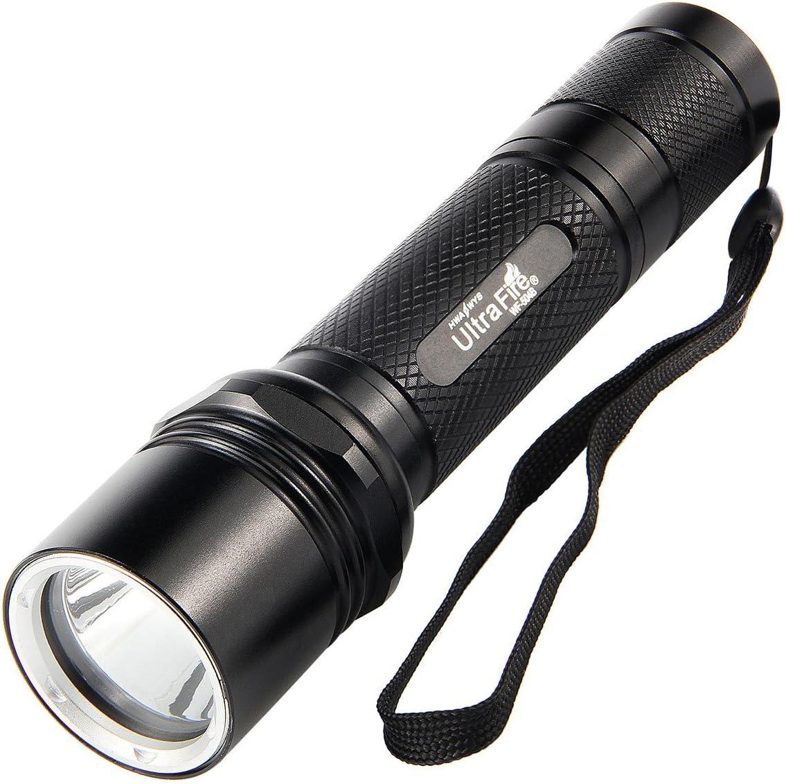 ULTRAFIRE Ultra Bright Magnetic Based LED Camping and Emergency Lantern … (Flashlight)