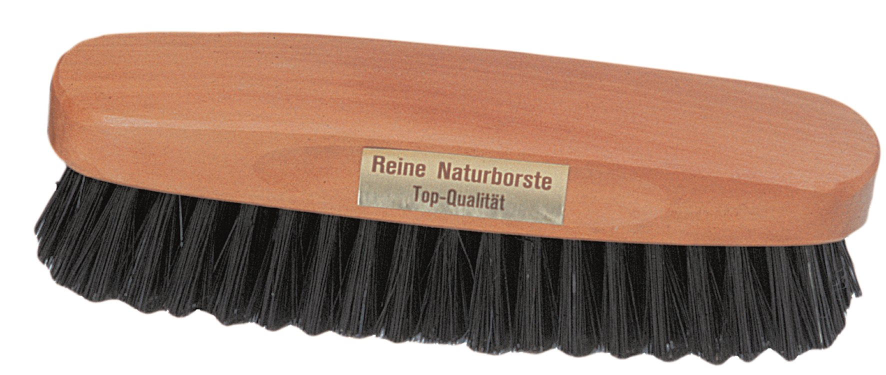 Redecker Natural Pig Bristle Clothes Brush with Pearwood Handle, 5-1/4-Inches